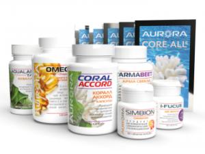ΣΕΤ AURORA Simbion, Core All, Coral-Accord, Aqualamin,Omega-3 με Βιταμίνη E, I-Fucus,I-Fucus, Arma Beet για εγκεφαλικό,καρδιακή προσβολή, οξεία αναπνευστική ιογενή λοίμωξη, χειρουργική επέμβαση, κορονοιούς